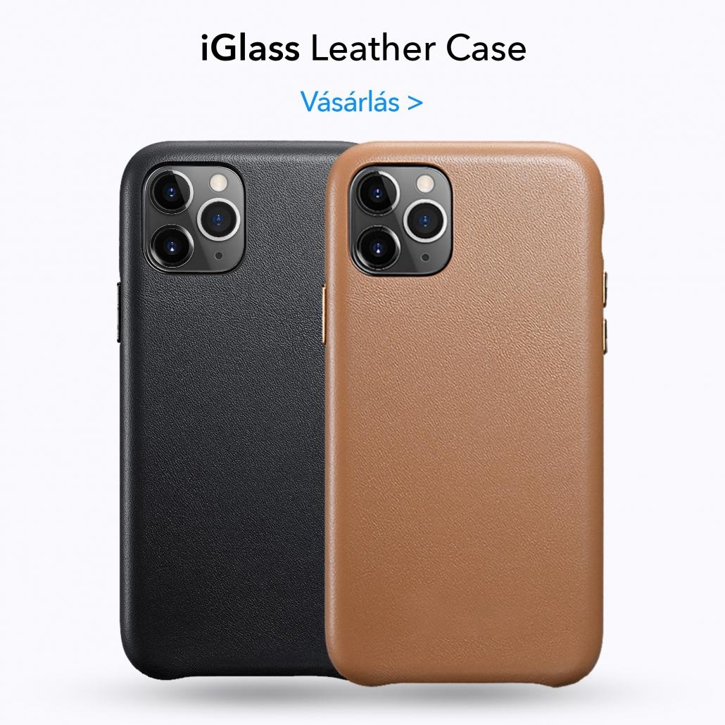 iGlass Leather Case